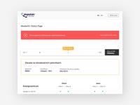 Status Page UI