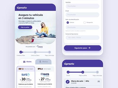 Eprezto - UI Design fintech product design uxdesign interface uidesign