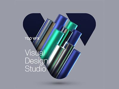 3D + Branding furniture curve geometric typhography typo logotypo