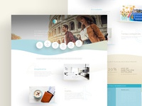 Arenas Travel Club — Landing Page