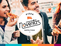 90's Pizza Napolitana — Propuesta 01