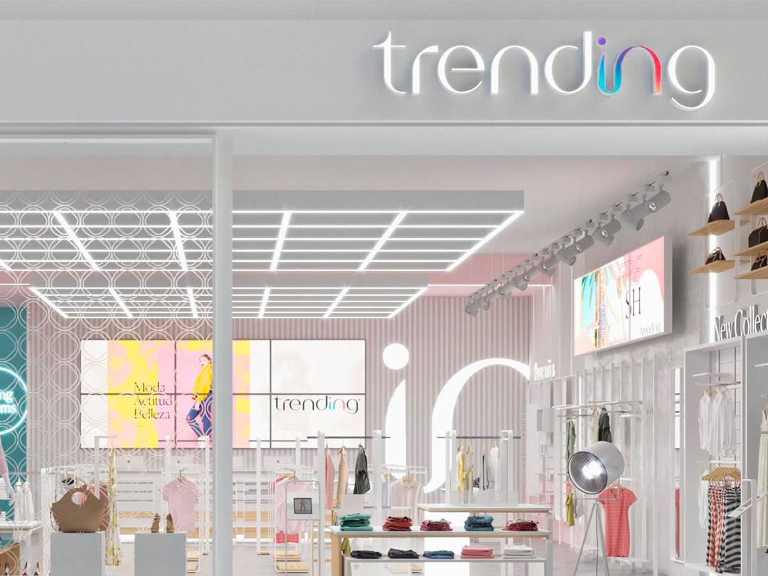 Store facade — Trending® panama brand fashion logotype typography type letter design identity logo branding