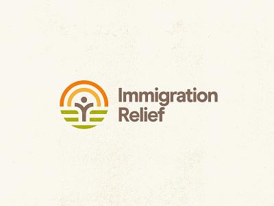 NGO — Branding immigrant ngo type design logo identity branding
