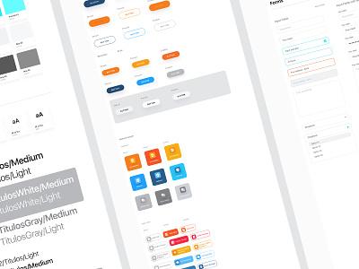 Style Guide - In progress branding web  design ui design interace guideline design system