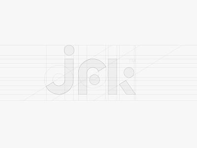 JFK — Logotype construction logotype branding