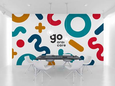 Go Oral Care storefront design branding logo illustration