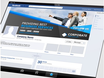 Creative Corporate Facebook Timeline Cover Vol 9 By Jason Lets