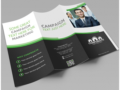 corporate trifold brochure vol 1 by jason lets just design