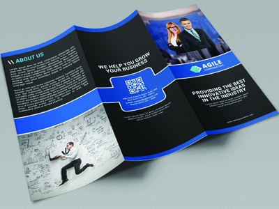 Creative Corporate Tri Fold Brochure Vol 11 By Jason Lets Just