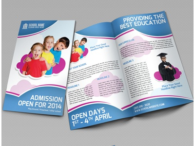 School Promotion Bi Fold Brochure Vol 1 by Jason | Lets Just ...