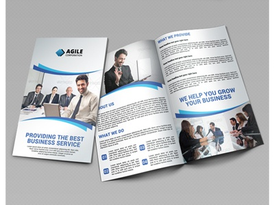 Creative Corporate Bi Fold Brochure Vol 12 by Jason | Lets Just ...