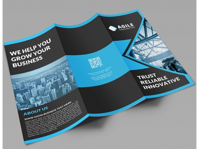 Creative Corporate Tri Fold Brochure Vol  By Jason  Lets Just