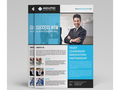 Corporate Flyer Template Vol 21 By Jason Lets Just Design