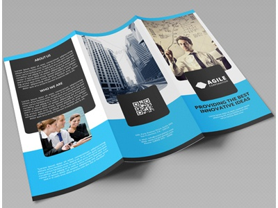 Creative corporate tri fold brochure vol 17