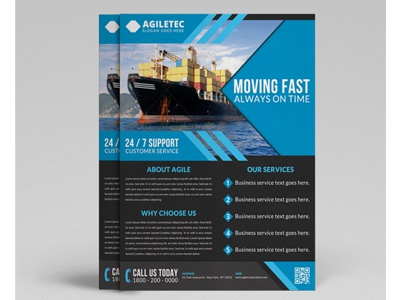 Corporate Flyer Template Vol 22  Now Hiring Flyer Template