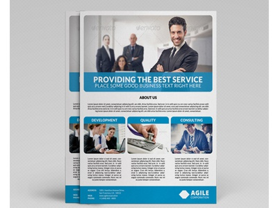 Corporate Flyer Template Vol 20 by Jason – Corporate Flyer Template