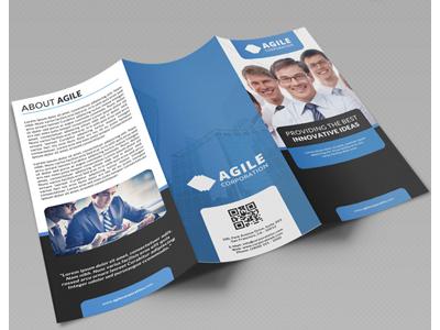 Creative corporate tri fold brochure vol 19