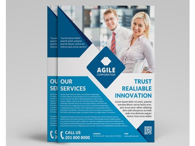 Corporate Flyer Template Vol 24 By Jason | Lets Just Design - Dribbble