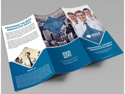 Creative Corporate Tri Fold Brochure Vol 20 By Jason | Lets Just