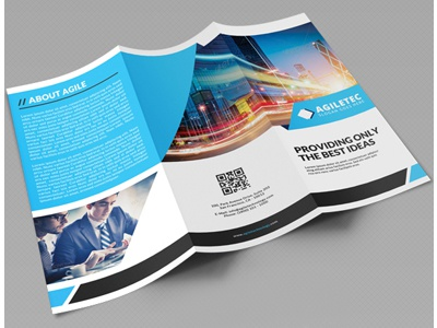creative corporate tri fold brochure vol 21 by jason lets just