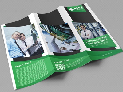creative corporate tri fold brochure vol 22 by jason lets just