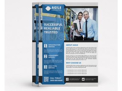 Corporate Flyer Template Vol 28 By Jason | Lets Just Design - Dribbble