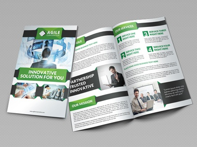 Creative Corporate Bi Fold Brochure Vol 24 By Jason Lets Just