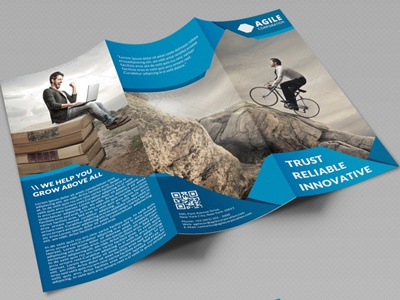 creative corporate tri fold brochure vol 26 by jason lets just