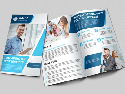 Creative Corporate Bi Fold Brochure Vol 27 by Jason | Lets Just ...