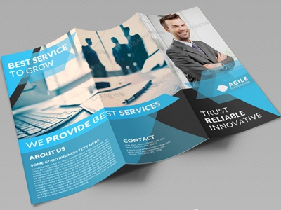 creative corporate tri fold brochure vol 29 by jason lets just