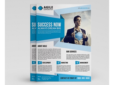 corporate flyer template vol 41 by jason lets just design
