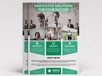 Corporate Flyer Template Vol 44