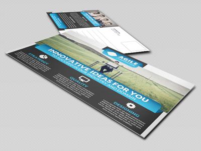 Corporate Postcard Template Vol 10