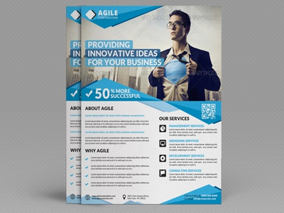 Corporate Flyer Template Vol  By Jason  Lets Just Design  Dribbble