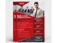 Corporate Flyer Template Vol 54