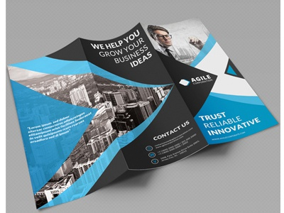creative corporate tri fold brochure vol 31 by jason lets just