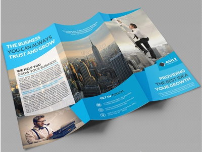 creative corporate tri fold brochure vol 33 by jason lets just