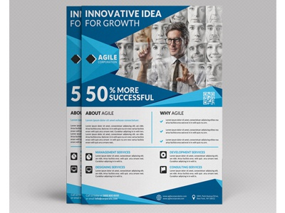 Corporate Flyer Template Vol 56 By Jason | Lets Just Design - Dribbble