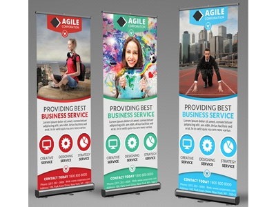 Corporate Roll Up Banner Vol 6 by Jason | Lets Just Design - Dribbble