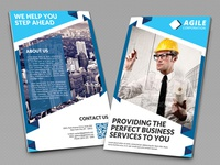 Creative Corporate Bi Fold Brochure Vol 35