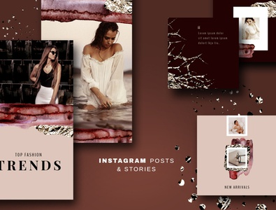 Foil - Instagram Posts & Stories
