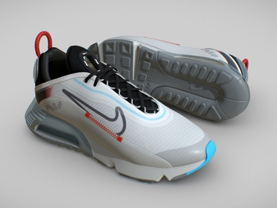NIKE AIR MAX 2090 logo quixel 3d model 3d art 3d basketball fabric style fashion sports texturing pbr trainers sneakers nike shoes running 2090 nike air max nike air nike