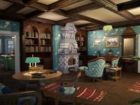 Russian Living Room