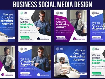 Social Media Post Design - Digital Business Marketing Banner template company banner corporate banner business banner web banner facebook banner banner design
