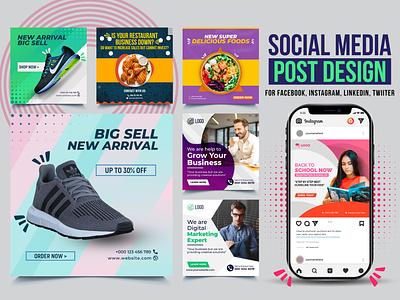 Social Media Post Design or Instagram and Facebook banner