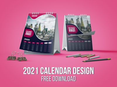 2021 Calendar Template Design | Free Download trifold brochure business flyer design 2021 wall calendar 2021 wall calendar 2021 desk calendar