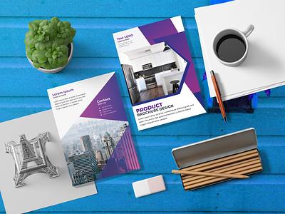 Multi Page Brochure Design, Business Flyer Proposal print flyer flyers bifold brochure business flyer design corporate flyer trifold brochure