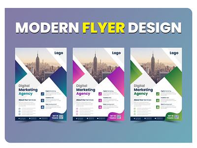 Modern Flyer Design Template restaurant flyer promotional flyer flyers flyer design print flyer flyer template corporate flyer business flyer design