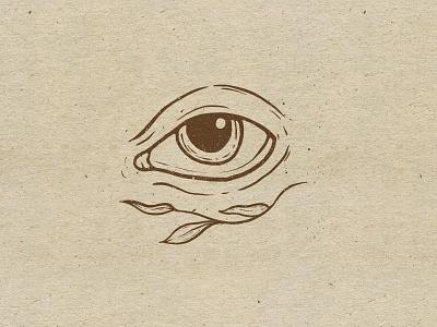 Eye design texture procreate illustration
