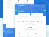 Sports Data Provider Website Concept